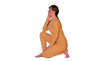 3 – 6 Virasana Hero Pose
