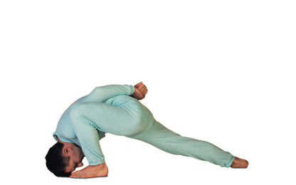 4 – 9 Shirangushthasana Sideways Bend towards the Toes