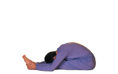 5 – 1 Paschimottanasana Forward Bend Stretching the Back