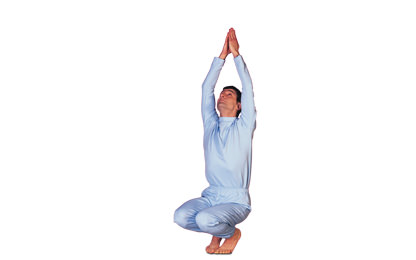 7 – 7 Virasana – Variation Hero Pose - Variation