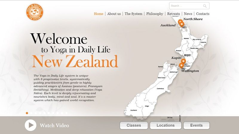 Yoga in Daily Life - New Zeland